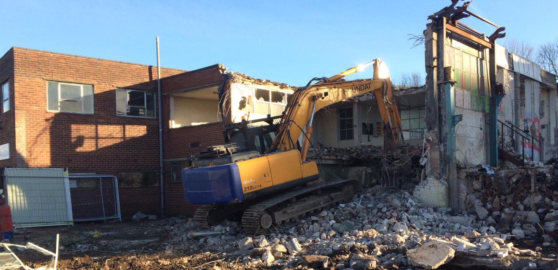Demolition Company Manchester
