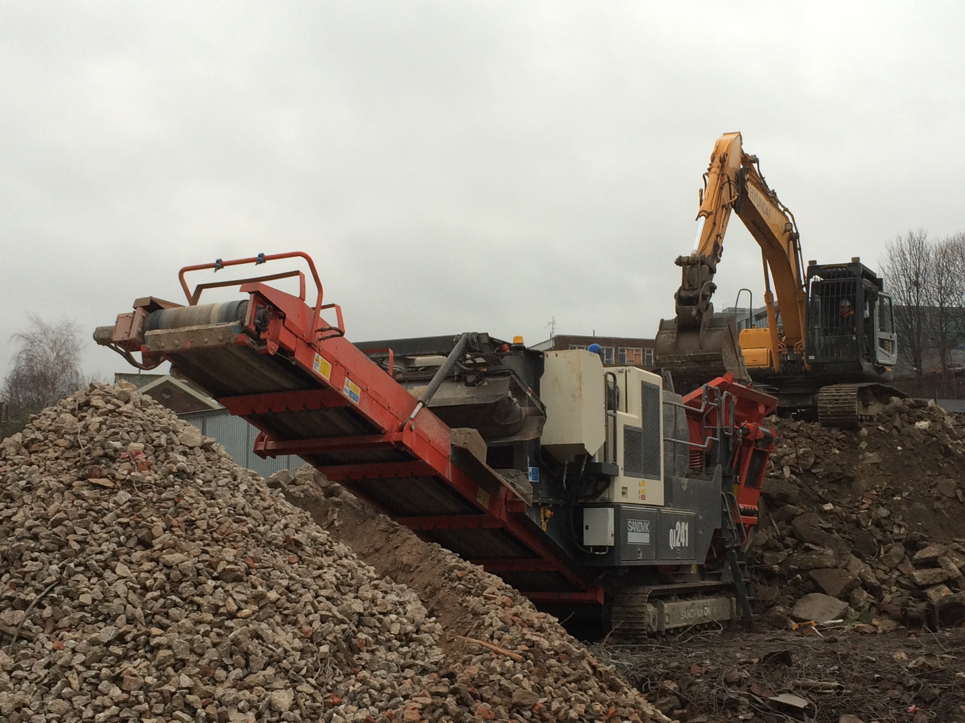 Demolition Recycling Manchester